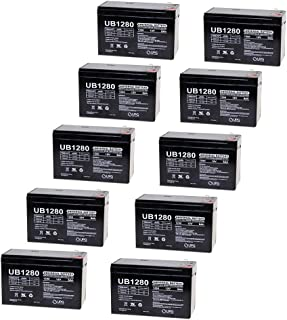 8 Pack Brand Product Mighty Max Battery 12V 7Ah SLA Battery Replacement for APC SUA1000RMUS