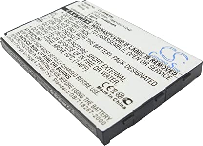 VINTRONS Battery For PIONEER GEX-XMP3  XMP3H1  XMP3i ...