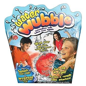 Water Wubble Waterballoon Balls - Refillable Reusable Easy-Fill Valve Seals Itself