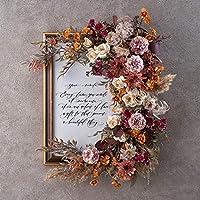 日比谷花壇 誕生日 お祝い 花 デザイナーズアーティフィシャルフレーム「フロラージュ」
