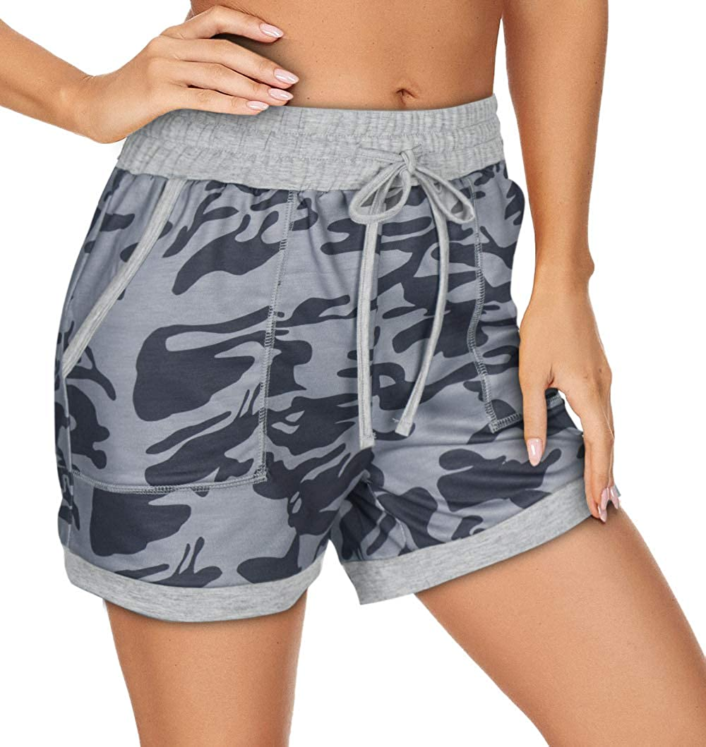 A surprise New product! New type price is realized NIMIN Shorts for Women Yoga Workout Drawstring Lo Running