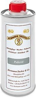 Hermann Sachse Polieröl 250ml farblos Hilfsmittel für die Schellack Ballen - Politur von Hand
