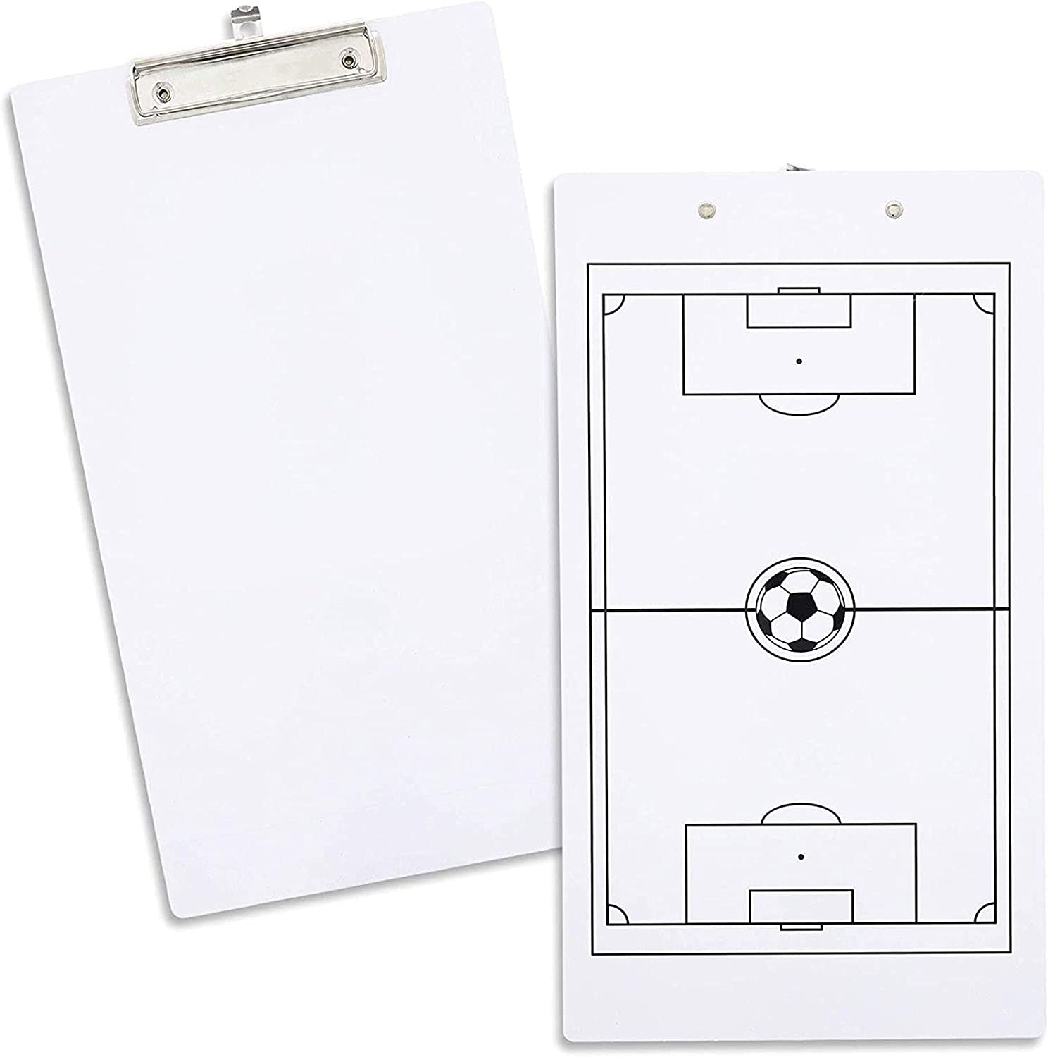Juvale Dry Erase Soccer shipfree Houston Mall Coach x 9 Clipboard Inches 16