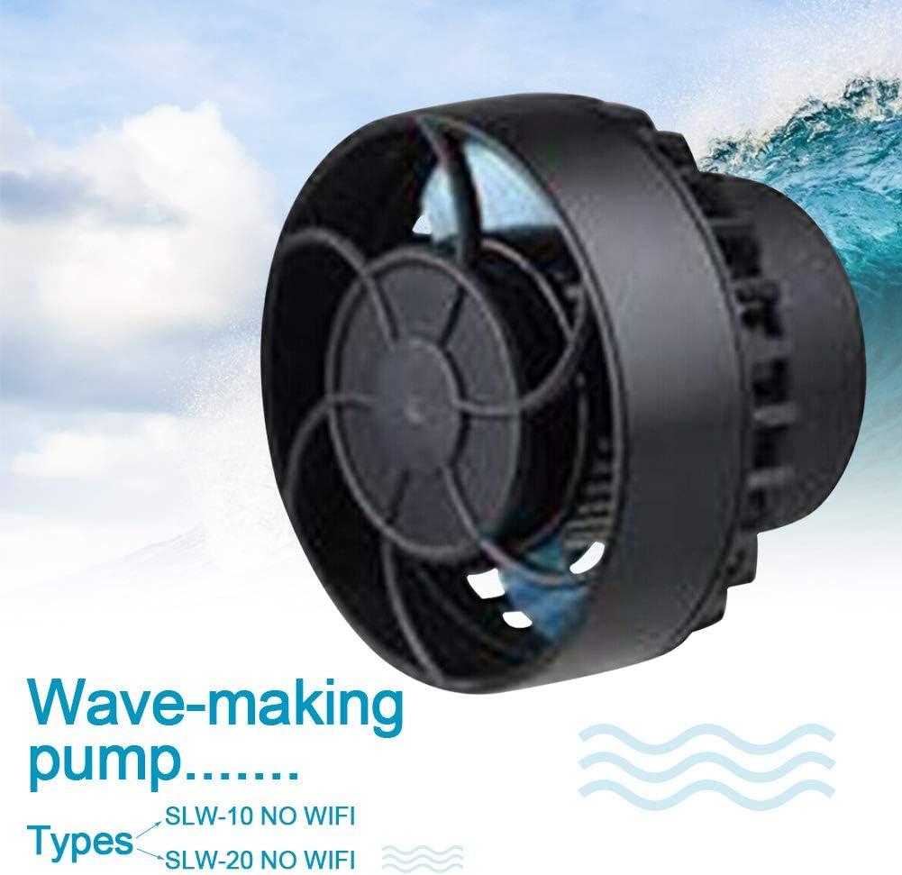 SLW-20 NO WIFI HAIMEN Wave Pump SLW-10 SLW-20 Supplies Water Frequency Conversion Mini Pet Tank Flow Maker Strong Fish Aquarium Powerful Quiet sy Install