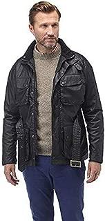 John Partridge Men's Speed 6 Biker Wax Jacket