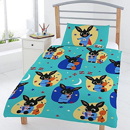 Bing Bunny Bedtime Junior Duvet Set, Polyester-Cotton, Multi, Full