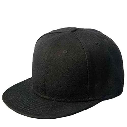 Sannysis® Nero vuoto pianura snapback Hip-Hop berretto da baseball ragazzo  regolabile 732799e9111d