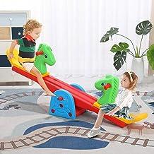 KimBird Kids Teeter Totter Outdoor Seesaw,Teeter-Totter Home Playground Equipment,48.03x9.84x8.26inch Backyard Or Playroom...