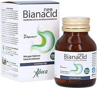 Neobianacid Beschermt de slijmhuid door sodbranden te bestrijden - 45 tabletten