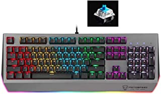 Keyboard CK99 RGB Mechanical Keyboard 104 Keys with Backlight, Length:1.6m, Cherry Red Switch HAOCHENGYU (Color : Color2)