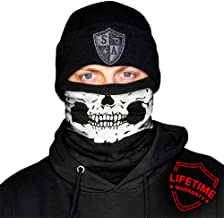 SA Company Fleece Face Shield - Half Skull