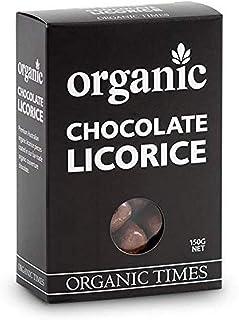 Organic Times Organic Milk Chocolate Coated Liquorice, 150 g