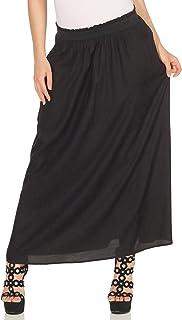 Only Women's ONLVENEDIG LIFE LONG WVN Skirt