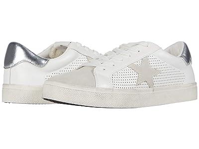 Steve Madden Philip Sneaker (White/White) Women