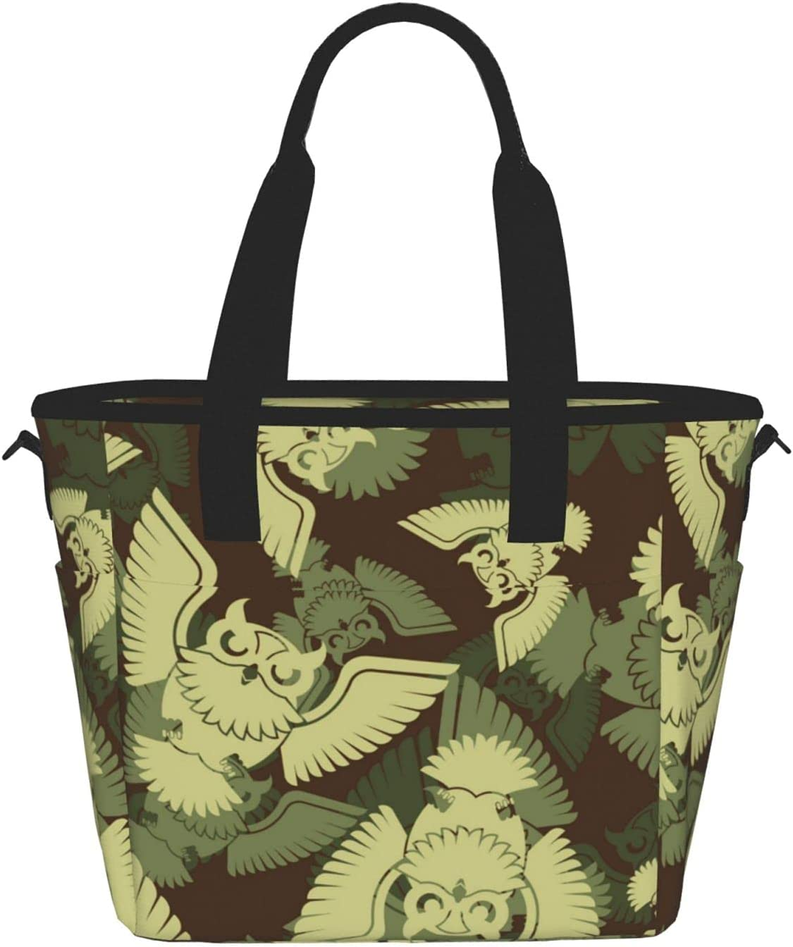 Many popular brands Dedication Owl Camouflage Reusable Insulated Tote Food Lunch Container Bag