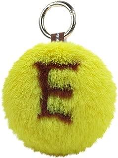 Succper Hanging Hair Ball Letter Ball Pendant Love Heart Plush Ball Heart-Shaped Rex Rabbit Fur Ball