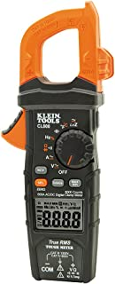 Klein Tools CL800 Digital Clamp Meter, Auto-Ranging True RMS, Low Impedance (LoZ) Mode,..