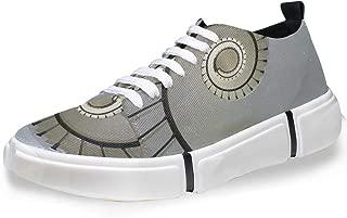MONTOJ Men Shoes Spiral Staircase Pattern Men's Casual Sneaker