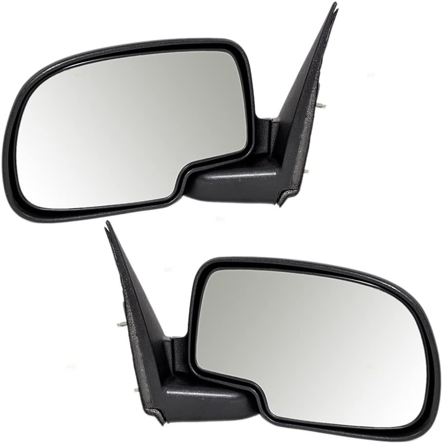 Aftermarket Replacement Pair Manual 40% OFF Cheap Sale Side Mirrors C Textured View Many popular brands