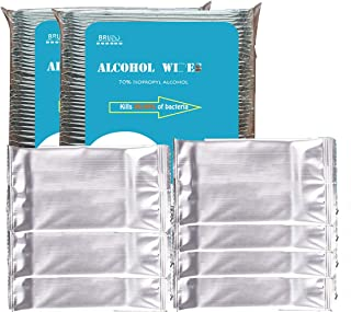 Hand Sanitizer Wipes, 170 Packs Bulk Individually Wrapped
