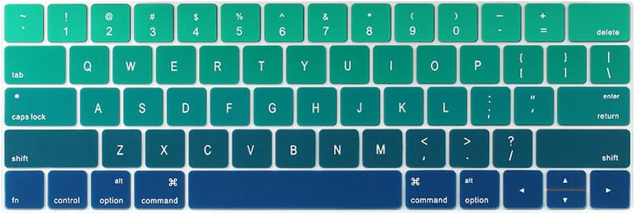 TwoL Ultra Thin Silicone Keyboard Cover MacBook Pro Limited time sale for Skin 13