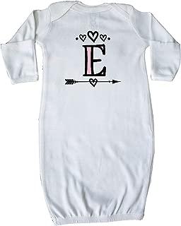 Letter E Monogram Tribal Arrow Newborn Layette