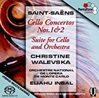 Saint-Saens: Cello Concertos Nos. 1 & 2 / Suite for Cello & Orchestra by Christine Walevska (2011-07-26)