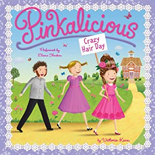 Pinkalicious: Crazy Hair Day audiobook cover art