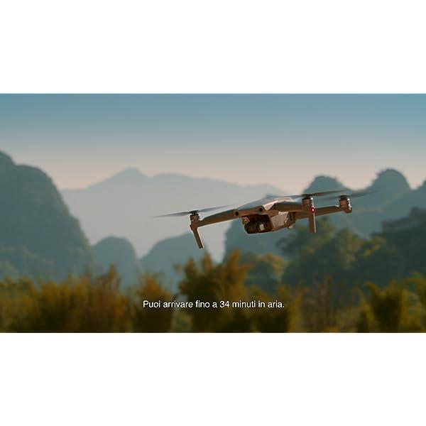 """DJI Mavic Air 2 Drone Quadcopter UAV con Telecamera 48MP 4K, Video 1/2"""", Sensore CMOS, Stabilizzatore 3 Assi, 34 min di Volo ActiveTrack 3.0, Grigio 7 spesavip"""