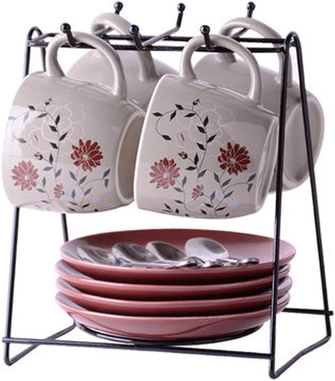 La Tasse de café en céramique Porcelaine Vaisselle mis Cappuccino Tasse café thé création Coupe l'après - midi b