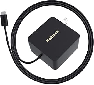 Nekteck 45W USB C Wall Charger with Power Delivery, Laptop Fast Charging Adapter Built-in..