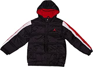 Jordan Air Boys' Puffer Bubble Hooded Jacket
