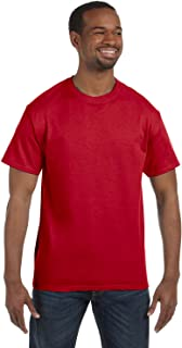 Gildan mens Heavy Cotton 5.3 oz. T-Shirt(G500)-RED-L