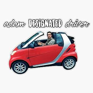 "LAD Studio Adam Designated Driver Cutout Edit Sticker Vinyl Bumper Sticker Decal Waterproof 5"""
