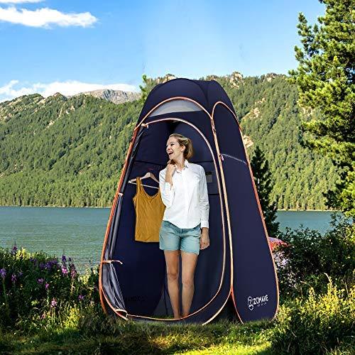 tienda de la ducha del pop-up, tienda portátil del cambiador del cuarto del retrete de camping de la privacidad para la playa
