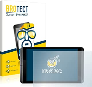 BROTECT Protector Pantalla Compatible con Nvidia Shield K1 Protector Transparente (2 Unidades) Anti-Huellas