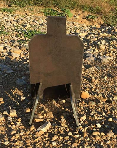 """Portable AR500 IDPA IPSC Steel Shooting Target Gong Base Stand 1/2"""" 7'' x 12''"""