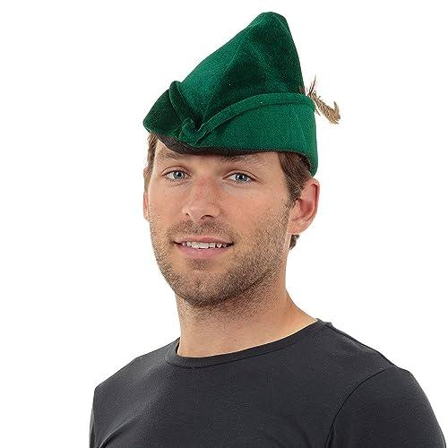 c272d395f02 Bristol Novelty BH531 Robin Hood Hat Soft Felt, Unisex-Adult, One Size
