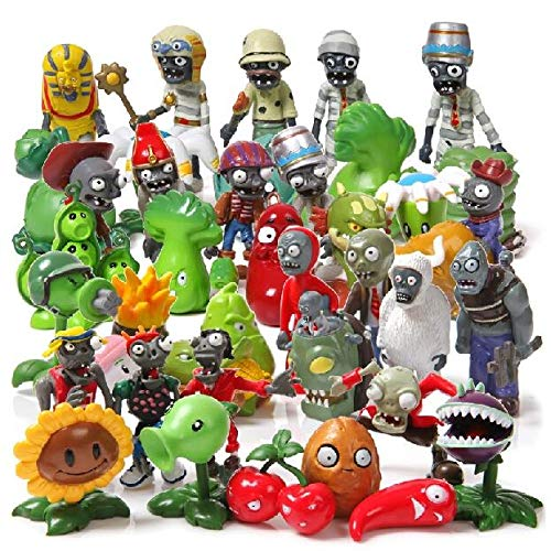 Plants VS Zombies - Set 40 Figuras 3-7cm / 40 Figures Set
