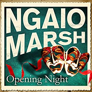 Opening Night audiobook cover art