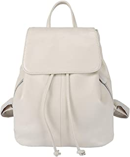 Best white backpack leather Reviews