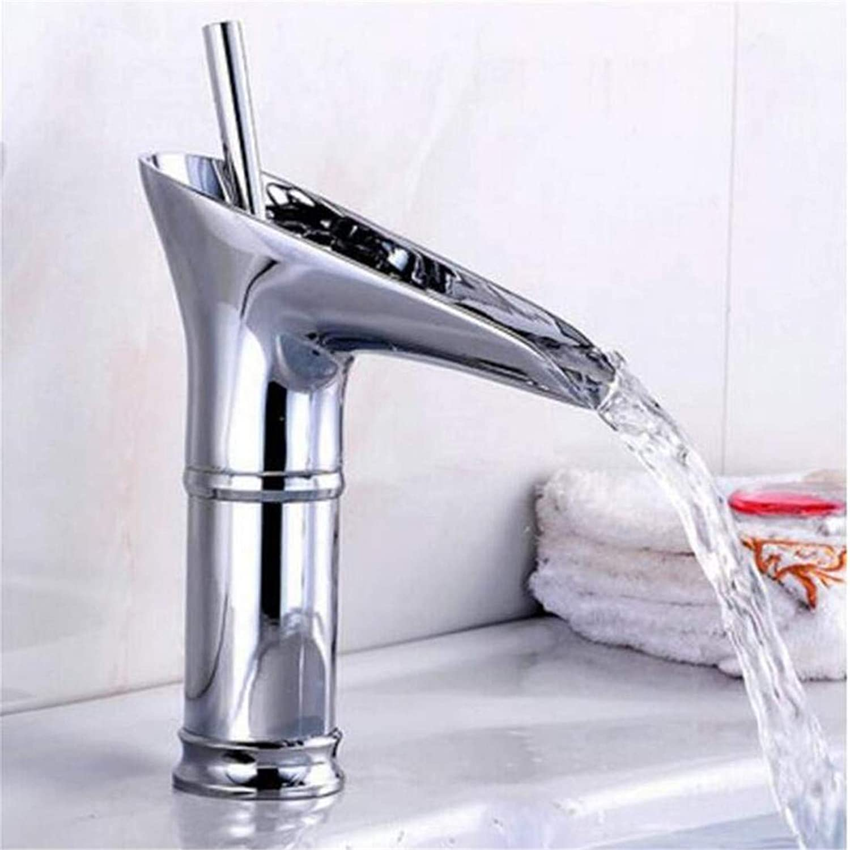 Kitchen Bath Basin Sink Bathroom Taps Mixer Hot Cold Mixer Basin Waterfall Faucets Ctzl2516