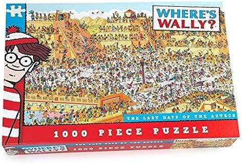 Mejor precio Paul Lamond Lamond Lamond Where's Wally The Last Day of The Aztecs Puzzle (1000-Piece) by Paul Lamond  hasta un 70% de descuento