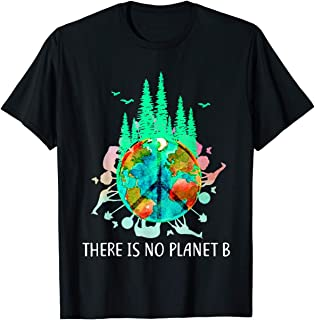 TIANLANGHB There is No Planet B Tee Save The Environment Save Earth T-Shirt
