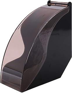 Liseng V60 Support pour filtre à papier / filtre conique en papier, boîte à filtre de stockage, étagère à café, outils ant...