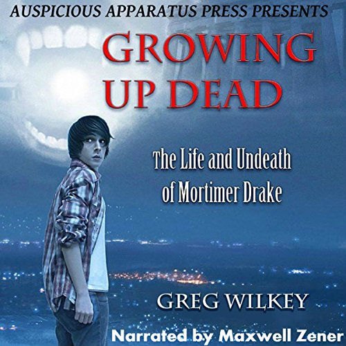 Growing up Dead audiobook cover art