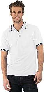 Bruntwood de Prima Calidad con Punta de Polo Camisa - Premium Tipped Polo - 220GSM - Poliéster/Algodón