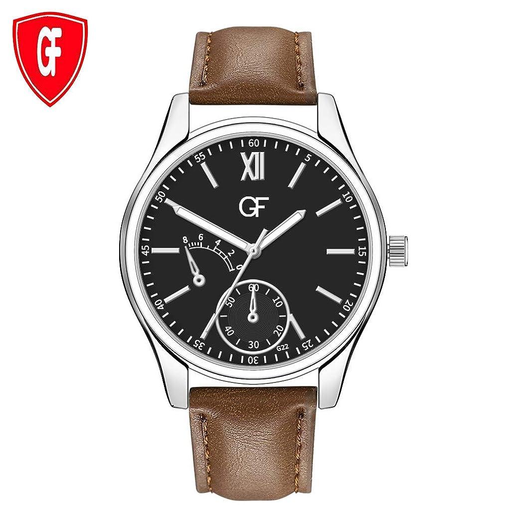 うねるスキッパー爵Rencaifeinimo2019年最新 人気 おしゃれ 通勤 軽量超薄型 シンプル 便利 華奢腕時計ホットマンレザーウォッチどんなに遅くてもとにかく文字が新しいポインタグロー腕時計