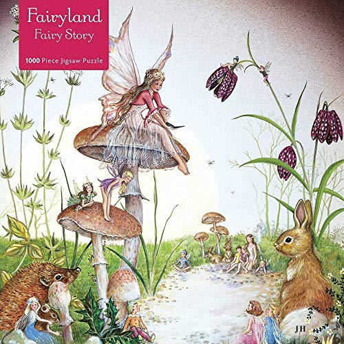 Adult Jigsaw Puzzle Jean & Ron Henry: Fairy Story: 1000-Piece Jigsaw Puzzles