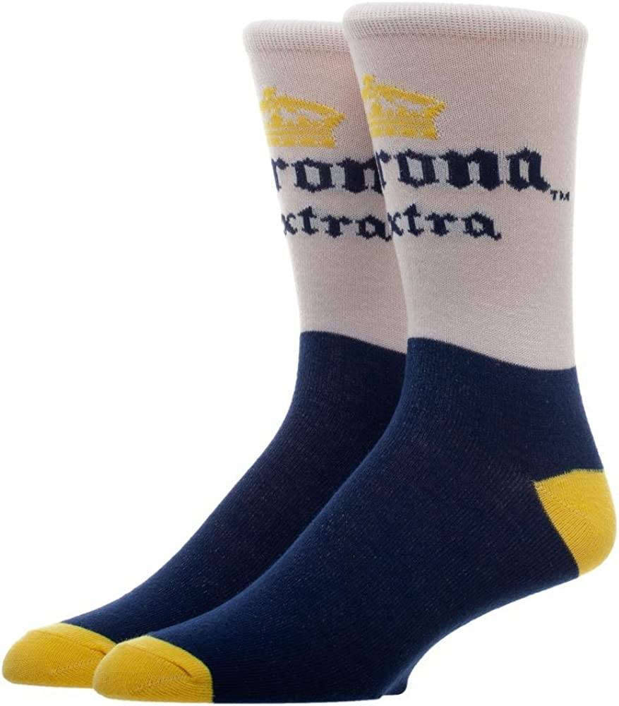 Corona Extra Classic Colors Men's Crew Socks